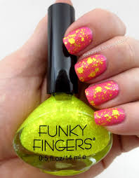 frazzle and aniploish funky fingers alex u0027s lemonade polishes for 2015