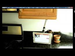 Belkin Kitchen Cabinet Tablet Mount Zen Mount Origin As Under Cabinet Tablet Mount Youtube