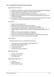 Material Handler Sample Resume by Caregiving Nc Ii