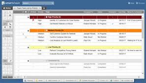 Spreadsheet Software List 15 Free Task List Templates Smartsheet