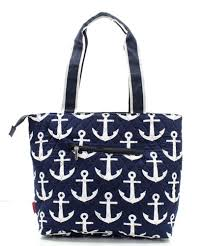 nautical bags athena bags quilted navy and white nautical anchor theme