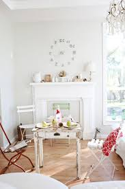industrial mantel clocks living room shabby chic style with french