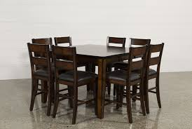9 Pc Dining Room Set by Rocco 9 Piece Extension Counter Set Living Spaces