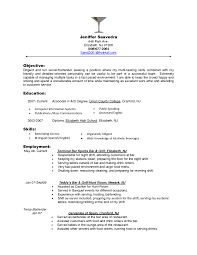 Resume Template For Restaurant Manager Restaurant Resume Objectives Restaurant Manager Resume Sample