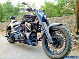 modified bullet bikes meet the mib a custom built chopper motorcycle from road rage