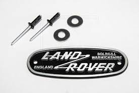 land rover logo aluminium cast lr vintage badge nakatanenga 4x4 equipment for