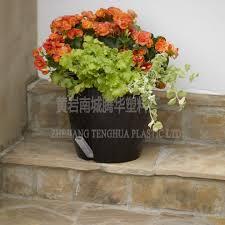 various size colored plastic pots for plants decorative plant