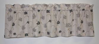 Black Curtains With Valance Valance Curtains Window Toppers