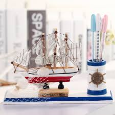 aliexpress buy mediterranean style wooden sailing ornaments