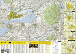 Maps Of New York State by Map Of New York State National Geographic U2013 Mapscompany