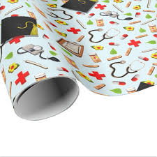 graduation wrapping paper nursing school graduation wrapping paper zazzle