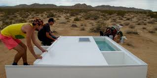 Free Pool Design Software by Camping By A Pool In The Mojave Desert Was The Weirdest Night Of