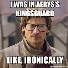 Hipster Glasses Meme - asoiaf lolz gaming fire book and valar morghulis