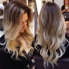 v cut layered hair women s long v cut with waves hairstyle