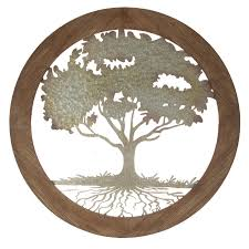 wood metal tree wall decor wall decor