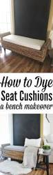 Will Rit Dye Stain My Bathtub How To Dye Cushions A Bench Cushion Makeover Liz Marie Blog