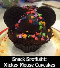 mickey mouse cupcakes snack spotlight on the mickey mouse cupcake