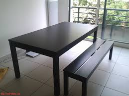 Table Et Banc Pliant Carrefour by Tables Manger Ikea Finest Ikea Table Bjursta With Clectique Salle