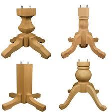 Unfinished Pedestal Table 22 Best Unfinished Wood Furniture Components Images On Pinterest
