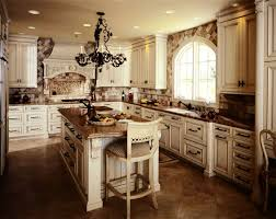 white drawers inside the traditional kitchen rustic country