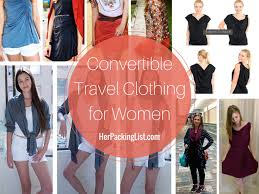 travel clothing images The best convertible travel clothing for women pack less do png