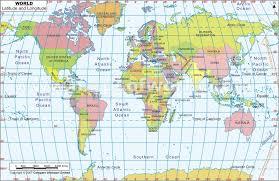 latitude map maps of the world and usa world longitude latitude map