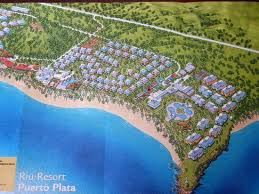 ideal resort map map of resort picture of clubhotel riu bachata plata