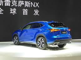 suv lexus 2017 2017 lexus nx rear three quarters at auto shanghai 2017 indian