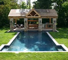 pool and outdoor kitchen designs pool kitchen 3 charming design backyard designs with pool and