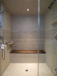 Bathroom Shower Bench Teak Shower Bench Bathroom Contemporary With Lighting Design