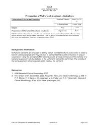 preparation of mcfarland standards