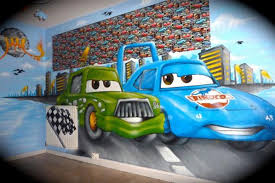 chambre mcqueen chambre graffiti cars disney de decorationgraffiti