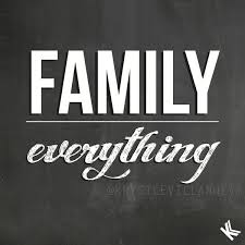 family everything typography quote by krystle villanueva