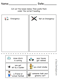 all about emergencies the autism helper