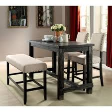 pub height table and chairs pub tables bistro sets you ll love wayfair