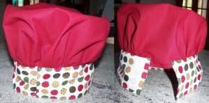 tablier cuisine pour enfant une toque pour enfant assortie au tablier créations et