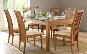 Glass Dining Tables And 6 Chairs Glass Dining Table Price Dining Table 6 Size Of Glass