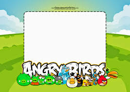 Free Printable Invitation Card Angry Birds Free Printable Invitations Oh My Fiesta For Geeks