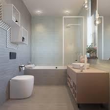 teenage bathroom design big wall mirror recessed cei florals