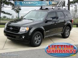 Ford Escape Black - 2011 ford escape hybrid in tuxedo black metallic a93802