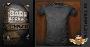 t shirt template psd for photoshop free collection
