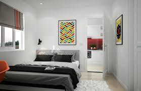 chambre appartement appartement citadin meublé selon les principes du design scandinave