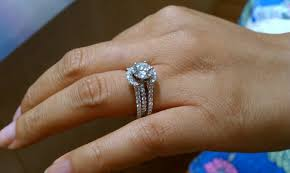 engagement ring enhancers wedding ring guards and enhancers ring enhancer on cushion cut