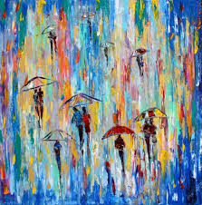 67 best rain paintings images on pinterest oil paintings modern