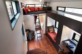ana white tiny house loft with bedroom guest bed storage and tiny