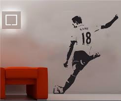 aliexpress com buy large mural harry kane famous footballer pop aliexpress com buy large mural harry kane famous footballer pop sport removable wall art vinyl transfer decal sticker s m l blue white orange from