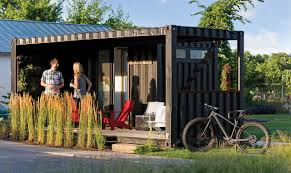 shipping container homes at the minneapolis home remodeling show