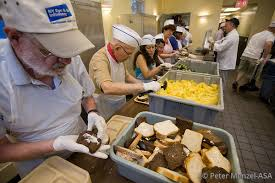 Soup Kitchens In New York by Asa Staffers Prepare Food For The Homeless At Holy Apostles Soup