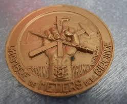 chambre des metiers gironde medaille chambre des metiers de la gironde r h vignal 1952 ebay