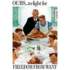 norman rockwell freedom from want 1943 print 8